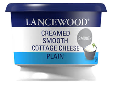 Lancewood Creamed Smooth Cottage Cheese 250g