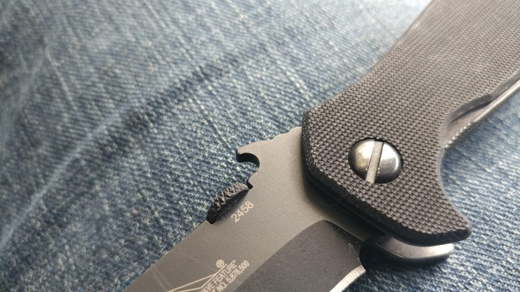 The Emerson CQC-7 BW - SEAL Approved