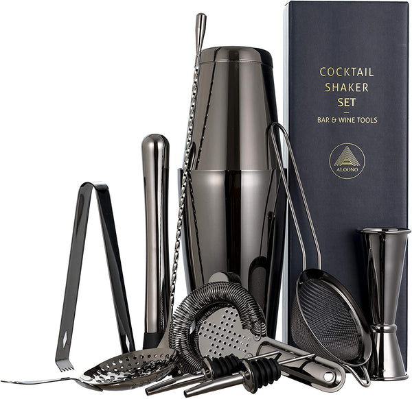 11-piece Milano Cocktail Shaker Bar Set