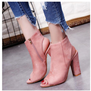 Ankle Booties - Not Sorry