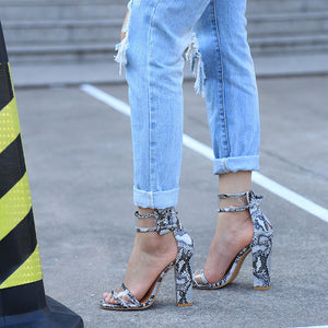 Ankle Strap Heels - Please Me