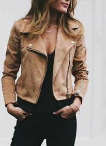 Suede Jacket - Ready Now