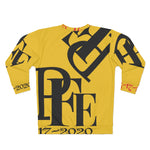 Load image into Gallery viewer, Yellow and Black Per-e-LEL Unisex Sweatshirt