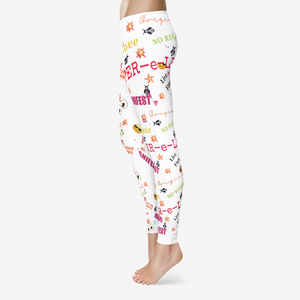 Emoji Women's Temp Control Cotton Leggings