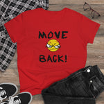Load image into Gallery viewer, Move Back-Women's Heavy Cotton Tee