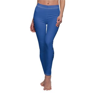 Blue/Black -Women's Leggings