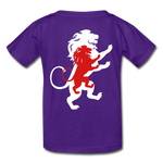Load image into Gallery viewer, LION- Gildan Ultra Cotton Youth T-Shirt - purple