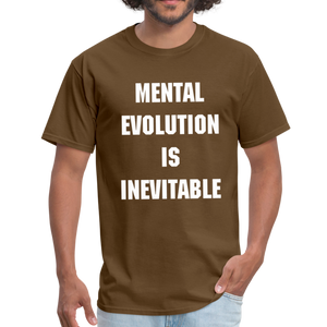 MENTAL EVOLUTION Unisex Classic T-Shirt - brown