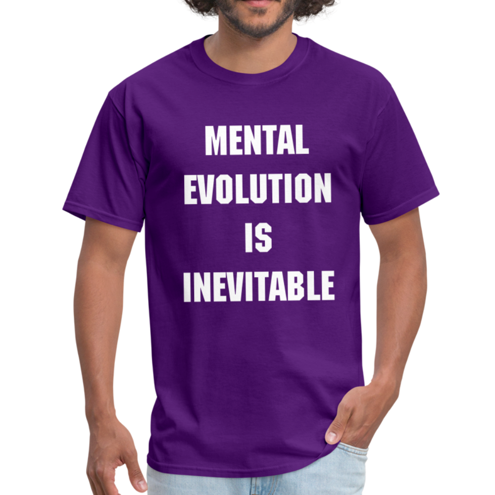 MENTAL EVOLUTION Unisex Classic T-Shirt - purple