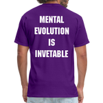 Load image into Gallery viewer, MENTAL EVOLUTION Unisex Classic T-Shirt - purple