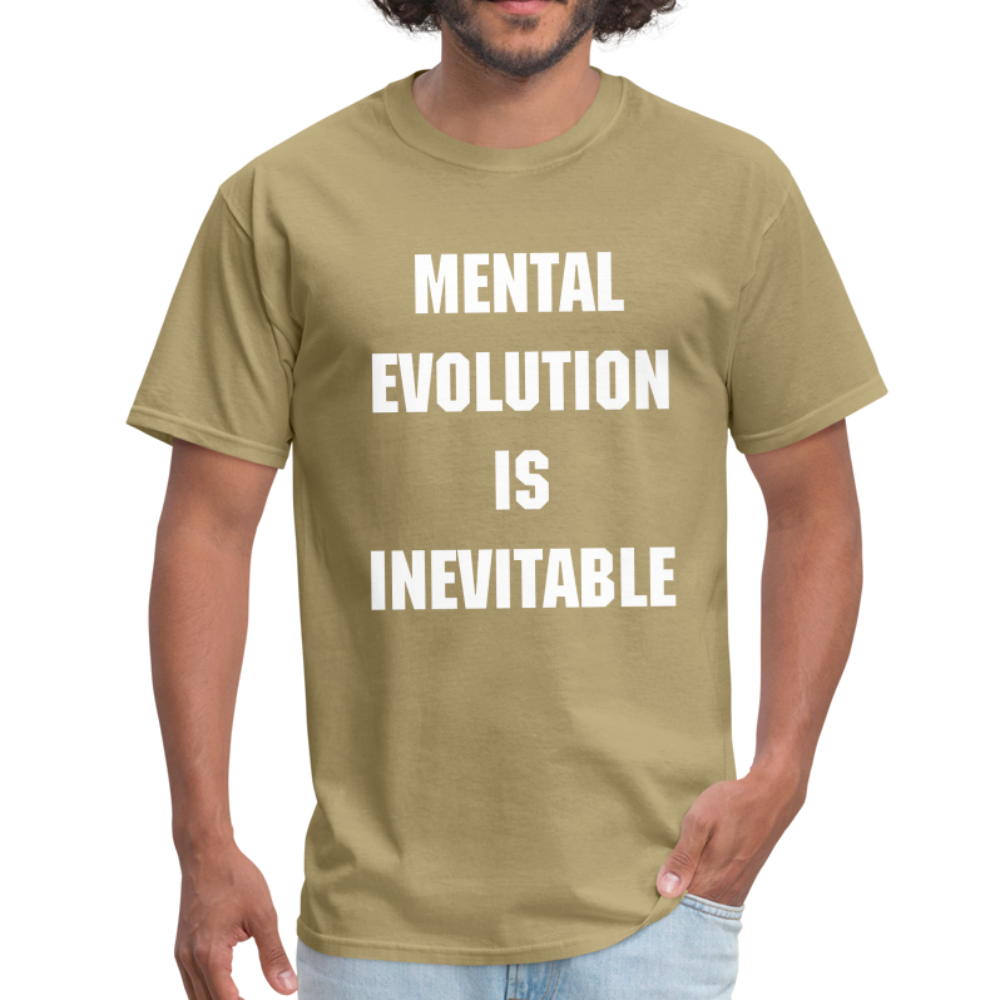MENTAL EVOLUTION Unisex Classic T-Shirt - khaki