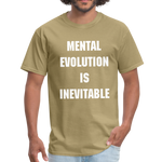 Load image into Gallery viewer, MENTAL EVOLUTION Unisex Classic T-Shirt - khaki