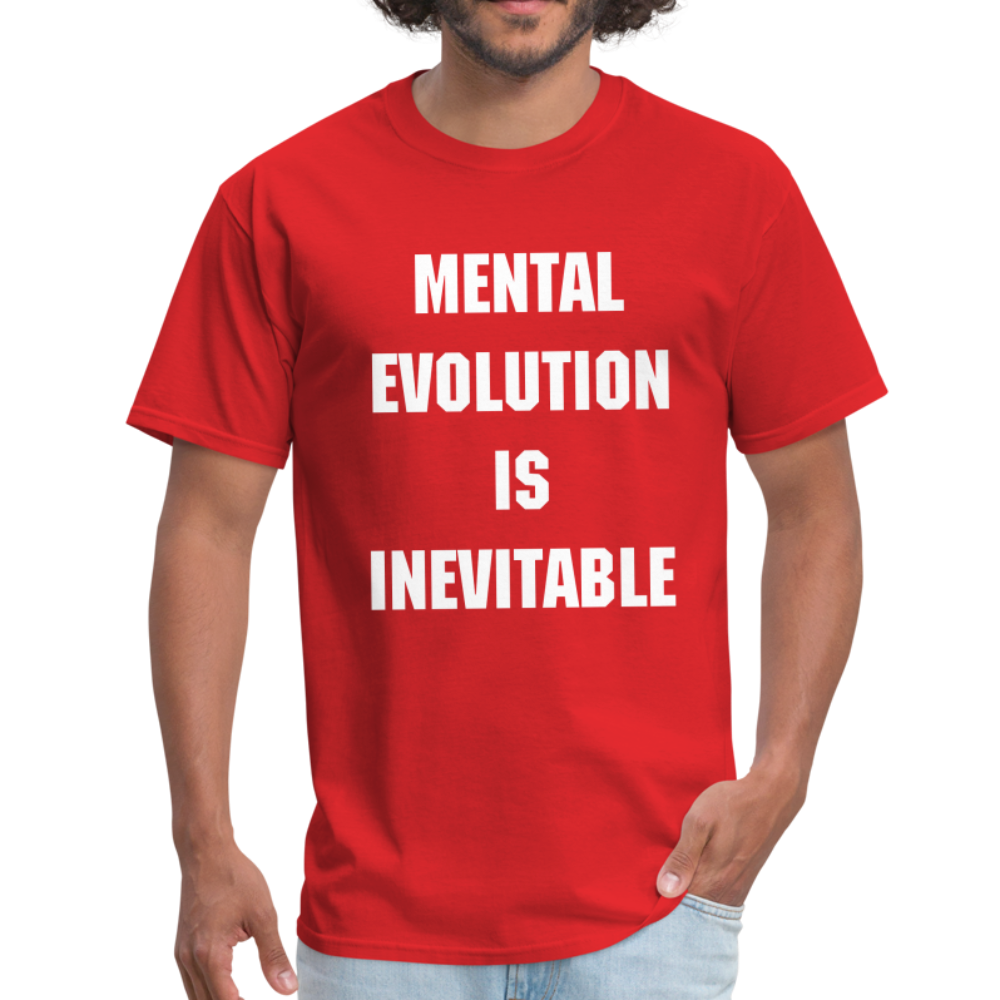 MENTAL EVOLUTION Unisex Classic T-Shirt - red