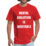 Load image into Gallery viewer, MENTAL EVOLUTION Unisex Classic T-Shirt - red