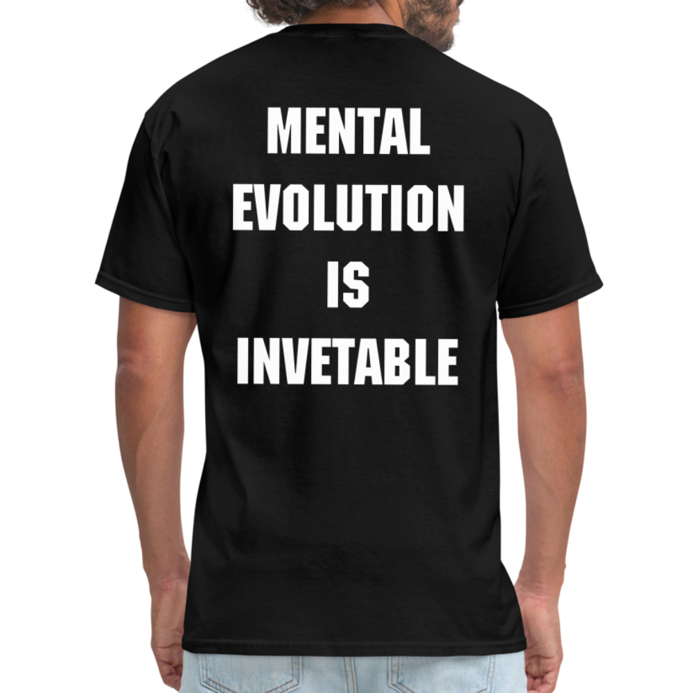 MENTAL EVOLUTION Unisex Classic T-Shirt - black