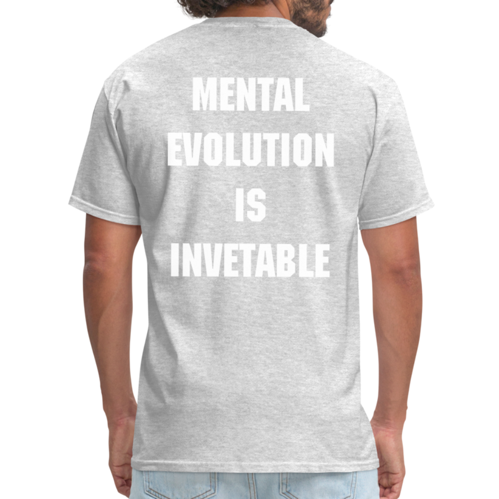 MENTAL EVOLUTION Unisex Classic T-Shirt - heather gray