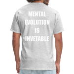 Load image into Gallery viewer, MENTAL EVOLUTION Unisex Classic T-Shirt - heather gray