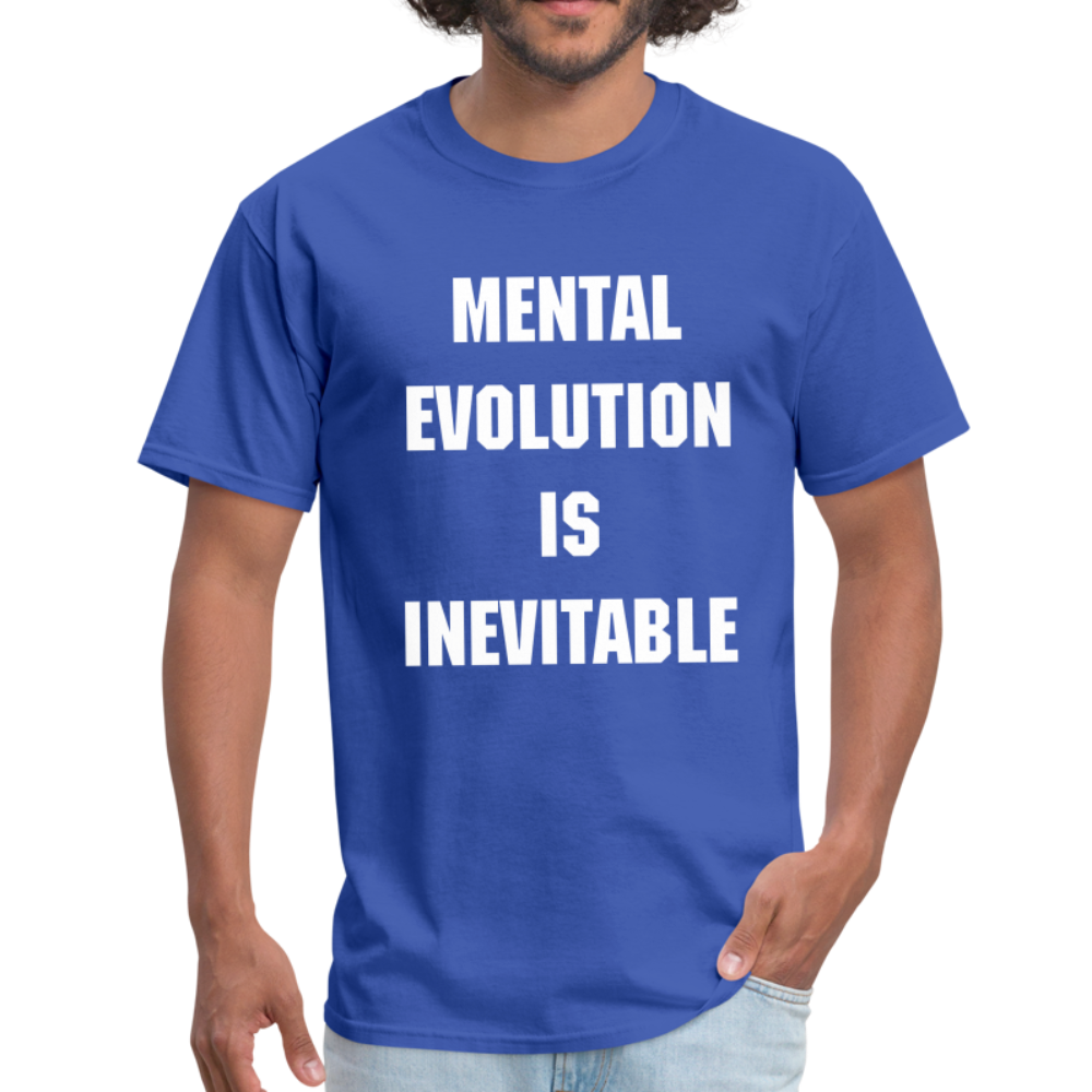 MENTAL EVOLUTION Unisex Classic T-Shirt - royal blue