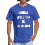 Load image into Gallery viewer, MENTAL EVOLUTION Unisex Classic T-Shirt - royal blue