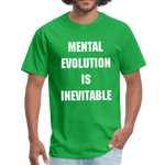 Load image into Gallery viewer, MENTAL EVOLUTION Unisex Classic T-Shirt - bright green