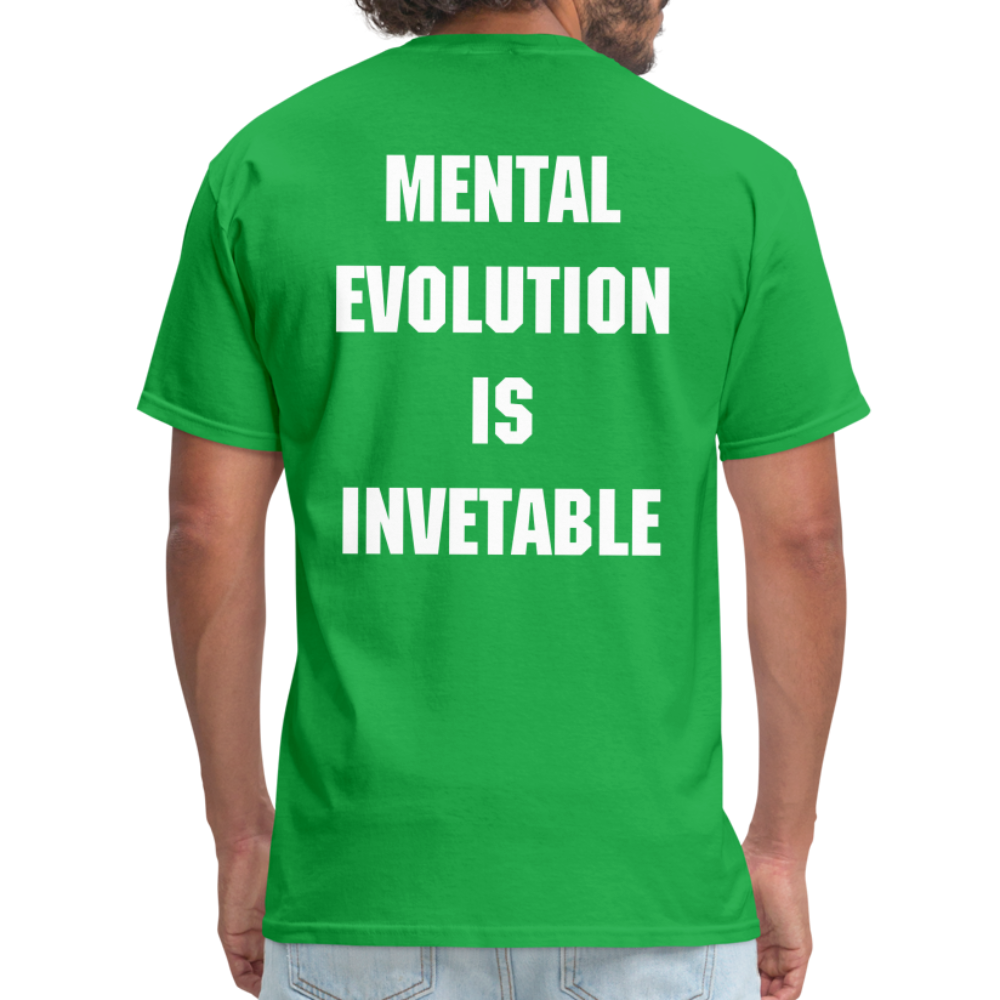 MENTAL EVOLUTION Unisex Classic T-Shirt - bright green