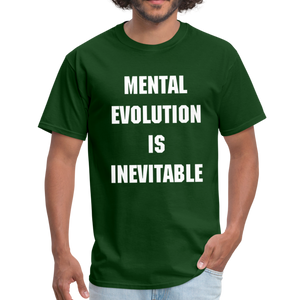 MENTAL EVOLUTION Unisex Classic T-Shirt - forest green
