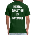 Load image into Gallery viewer, MENTAL EVOLUTION Unisex Classic T-Shirt - forest green