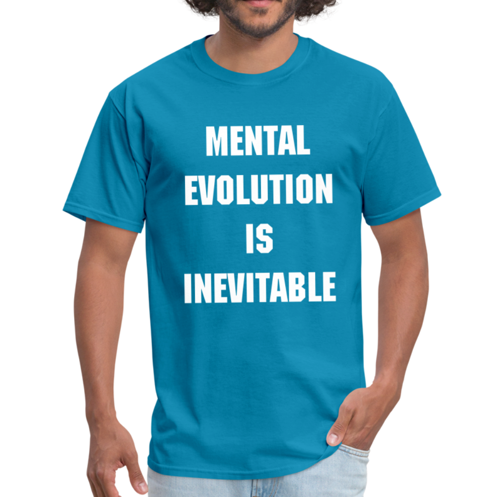 MENTAL EVOLUTION Unisex Classic T-Shirt - turquoise