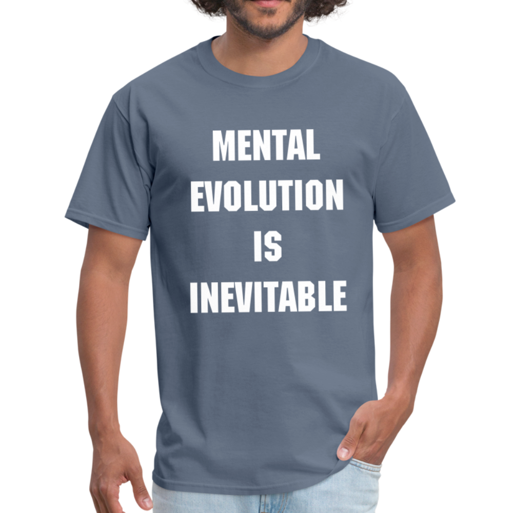 MENTAL EVOLUTION Unisex Classic T-Shirt - denim