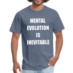 Load image into Gallery viewer, MENTAL EVOLUTION Unisex Classic T-Shirt - denim