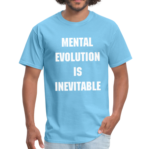 MENTAL EVOLUTION Unisex Classic T-Shirt - aquatic blue