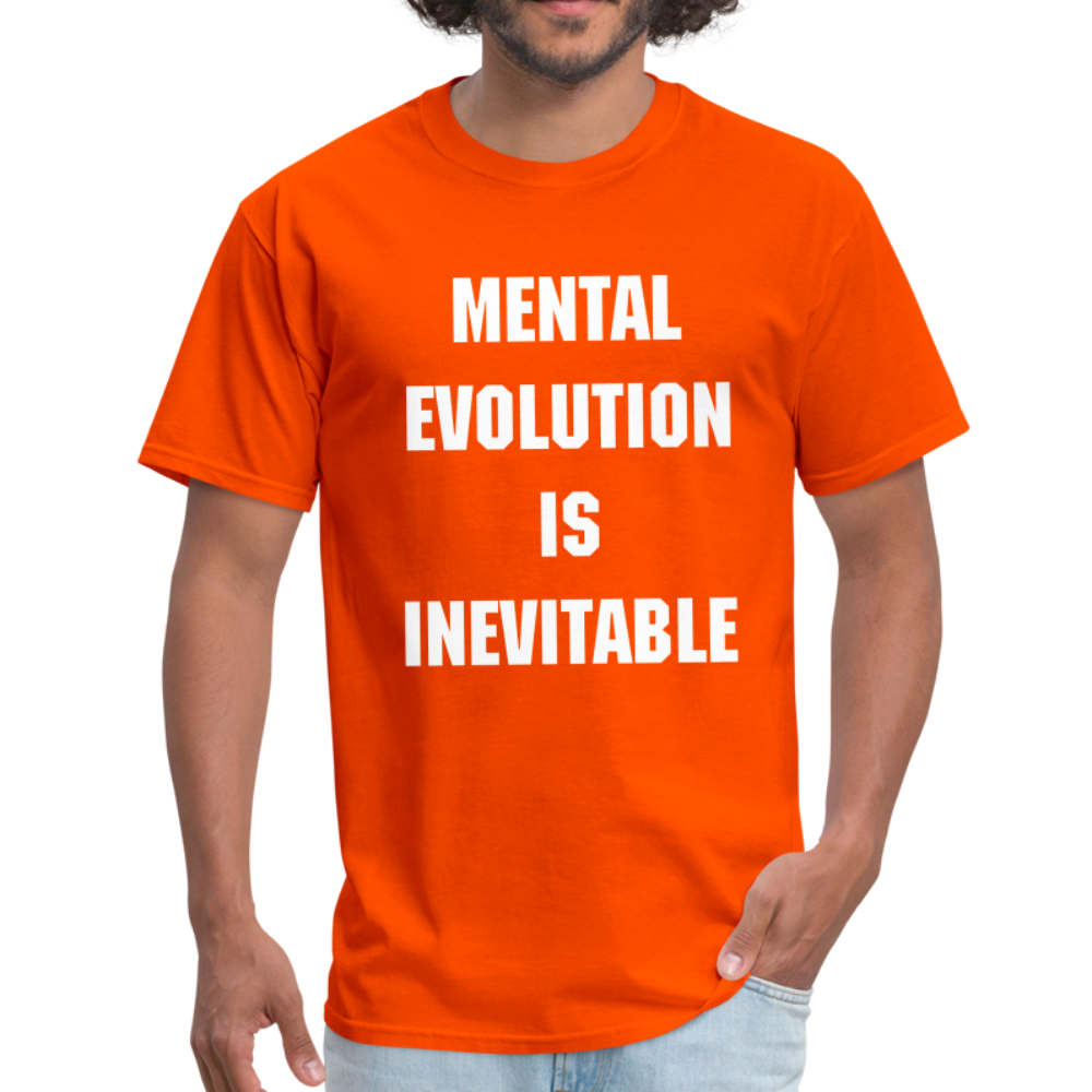 MENTAL EVOLUTION Unisex Classic T-Shirt - orange