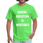 Load image into Gallery viewer, MENTAL EVOLUTION Unisex Classic T-Shirt - kiwi