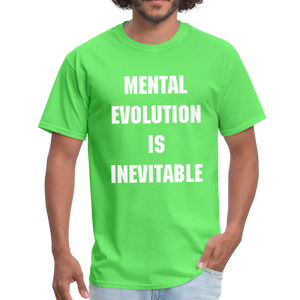 MENTAL EVOLUTION Unisex Classic T-Shirt - kiwi