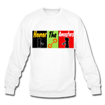 Load image into Gallery viewer, Ancestors P.F.E Crewneck Sweatshirt - white