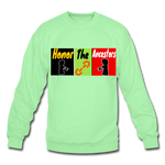 Load image into Gallery viewer, Ancestors P.F.E Crewneck Sweatshirt - lime
