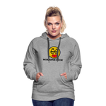 Load image into Gallery viewer, Mornings Suck Women's Premium Hoodie - heather gray