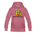 Load image into Gallery viewer, Mornings Suck Women's Premium Hoodie - mauve