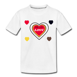 Load image into Gallery viewer, Toddler LOVE- Premium Organic T-Shirt - white