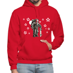 Load image into Gallery viewer, Astronaut Hoodie - red