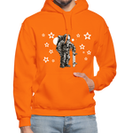 Load image into Gallery viewer, Astronaut Hoodie - orange