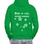 Load image into Gallery viewer, Astronaut Hoodie - kelly green