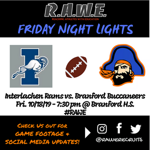 Branford Buccaneers Cruise Past Interlachen Rams on Senior Night, 27-10