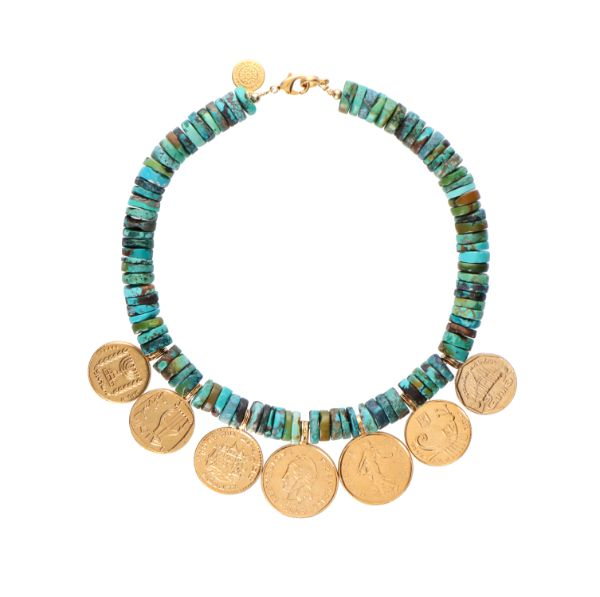Worldwide Turquoise Necklace