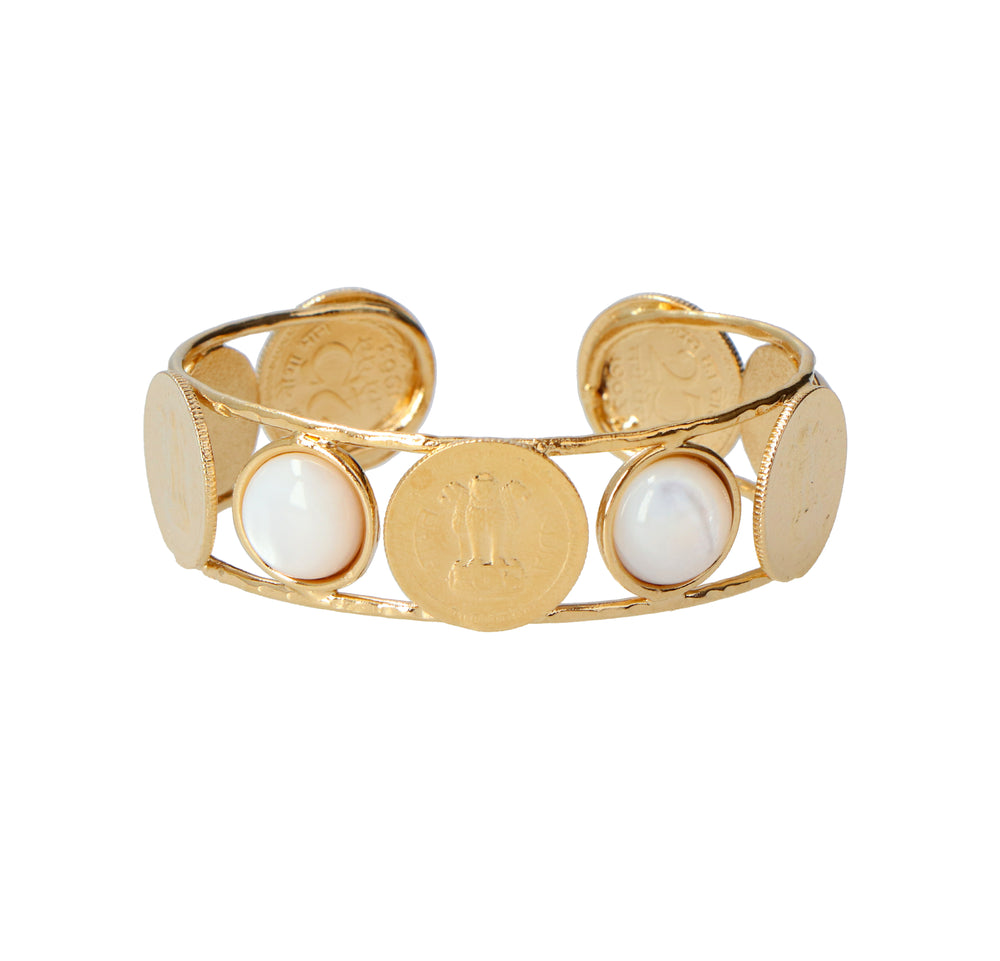 Bangalore Mother of Pearl Cuff