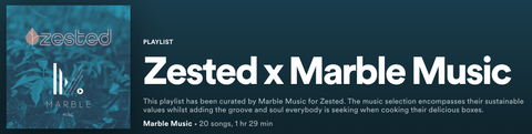 Music Zested Marble