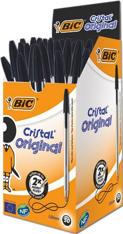 Bic Biro: Cristal Medium Black