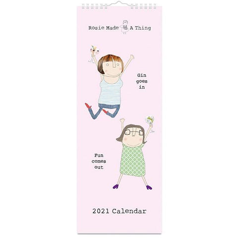 Rosie Made a Thing Slim 2021 Calendar