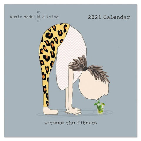 Rosie Made a Thing Square 2021 Calendar