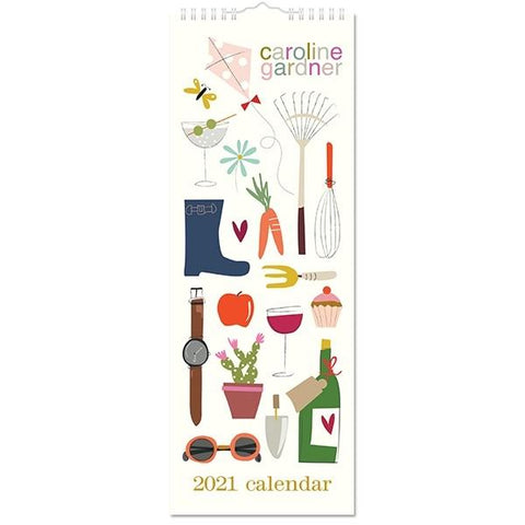 All Around the Table Slim 2021 Calendar